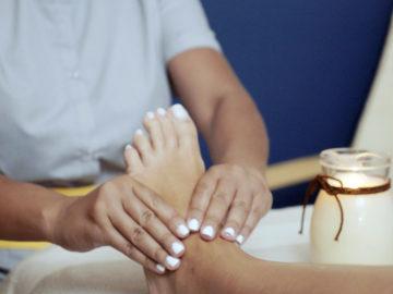 Μάλαξη στα πέλματα -Thai Massage