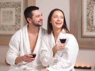 Bachelor day spa